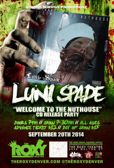 Luni Spade CD Release
