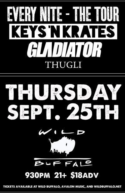 Keys and Krates, Gladiator, Thugli