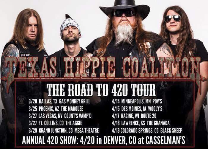 THC on 420!    Texas Hippie Coalition with Lola Black