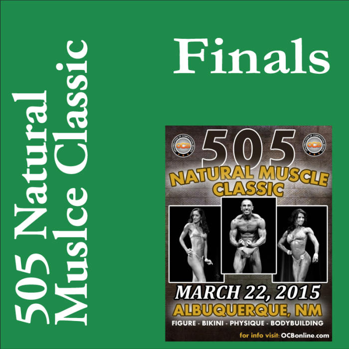 505 Natural Muscle Classic: 3:00pm