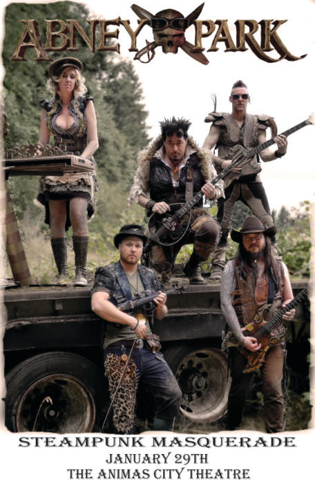 ABNEY PARK & CARUTE ROMA STEAM PUNK MASQUERADE