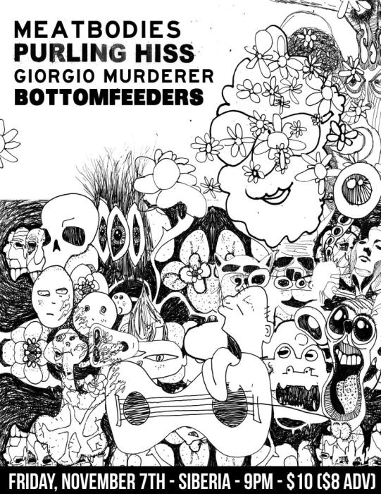 Meatbodies | Purling Hiss | Giorgio Murderer | Bottomfeeders