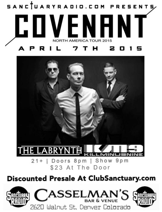 Covenant w/ The Labrynth, KillMinusNine