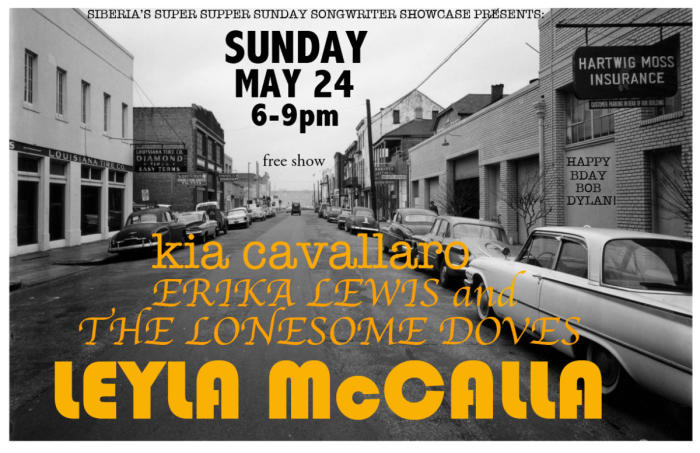 Leyla McCalla | Erika Lewis and The Lonesome Doves | Kia Cavallaro