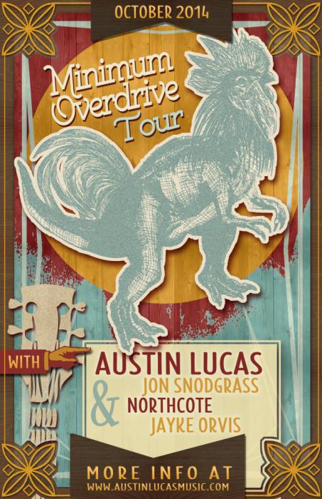Austin Lucas, Jon Snodgrass, Northcote, Jayke Orvis