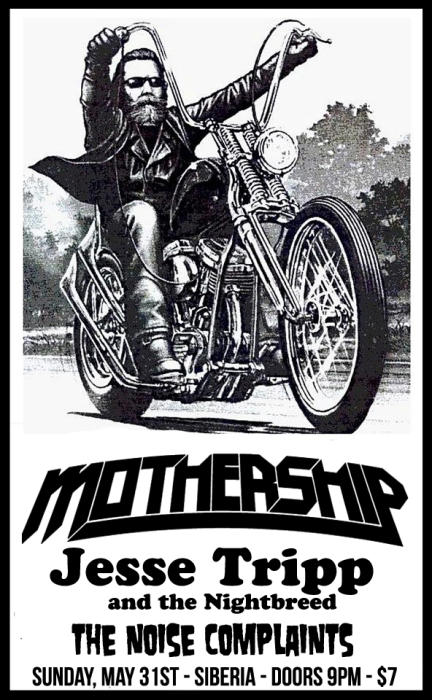 MOTHERSHIP | Jesse Tripp and the Nightbreed | The Noise Complaints