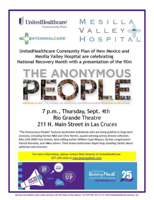 """The Anonymous People"""