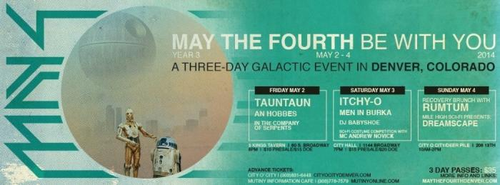 MAY THE FOURTH BE WITH WEEKEND NIGHT #1 WITH TAUN TAUN