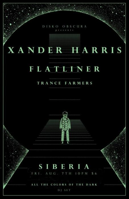XANDER HARRIS   FLATLINER   TRANCE FARMERS   allthecolorsofthedark