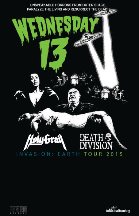 Wednesday 13 / Holy Grail / Death Division / Awakening The Revenant / Empire To Embers