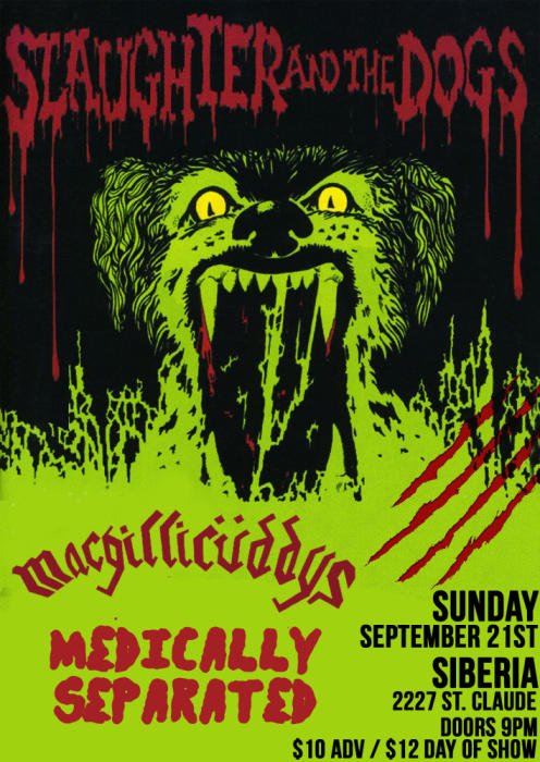 SLAUGHTER AND THE DOGS!! (UK Punk Legends) | The Macgillicuddys | Medically Separated | DJs St Sarah & Giorgio Murderer