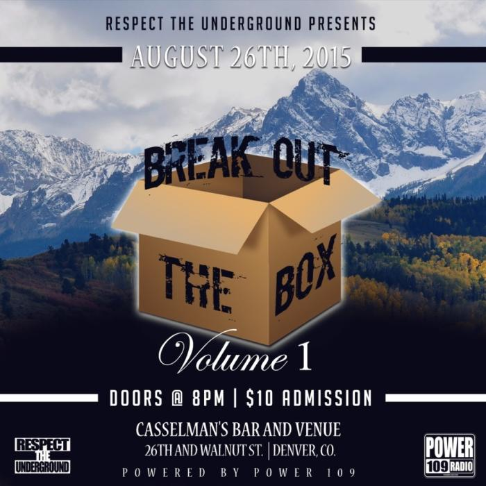 Break Out The Box Vol. 1