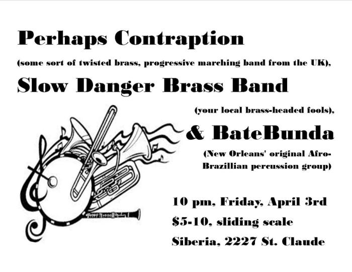BATEBUNDA | Perhaps Contraption (UK) | Slow Danger Brass Band