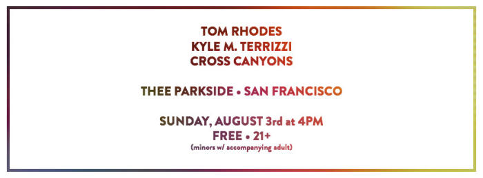 Tom Rhodes, Kyle M. Terrizzi, Cross Canyons