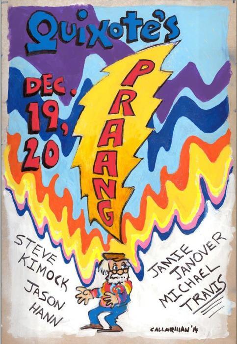 PRAANG (Steve Kimock/Michael Travis/Jason Hann/ Jamie Janover) Shakedown Street / Yojimbo