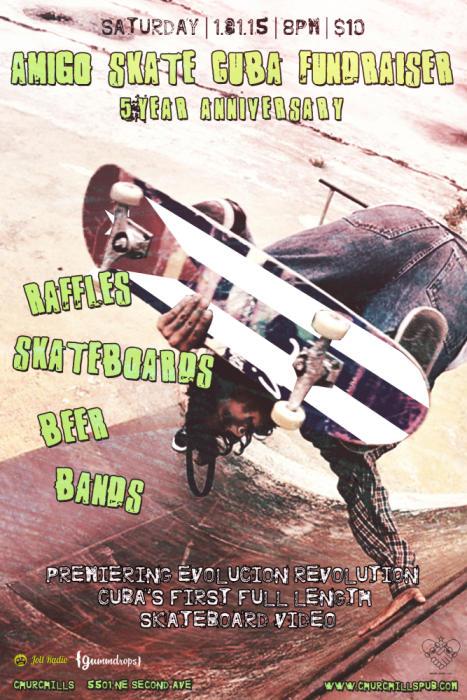 Amigo Skate Cuba Fundraiser | More TBA