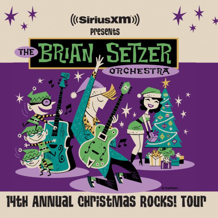 Brian Setzer Christmas.The Brian Setzer Orchestra 14th Annual Christmas Rocks Tour Isleta Resort Casino The Showroom Albuquerque Nm December 14th 2017 8 00 Pm