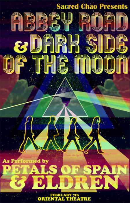 3rd Annual Abbey Road & Dark Side Of The Moon performed LIVE by Eldren and Petals Of Spain