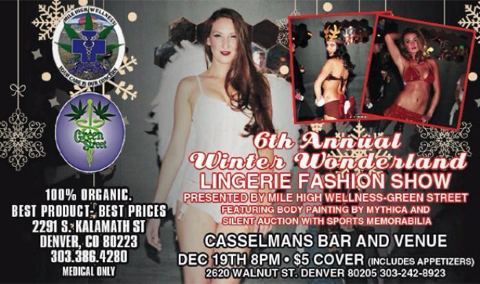 6th Annual Winter Wonderland Lingerie Fashion Show