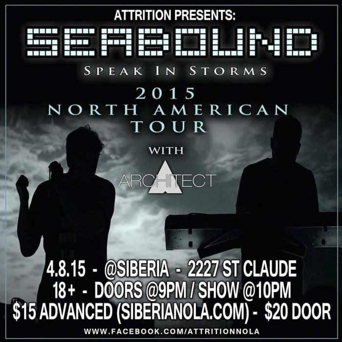 Attrition Presents: SEABOUND + ARCHITECT