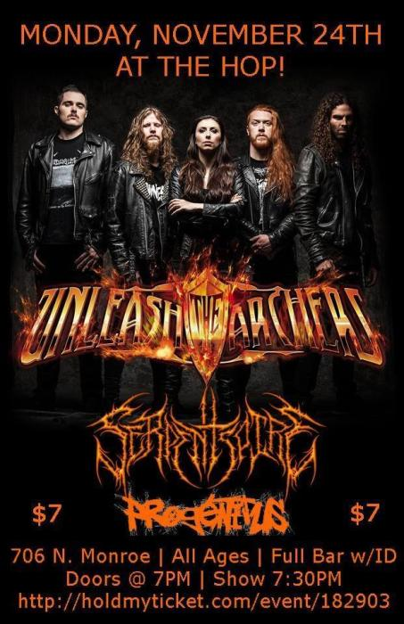 Unleash the Archers, Serpentspire