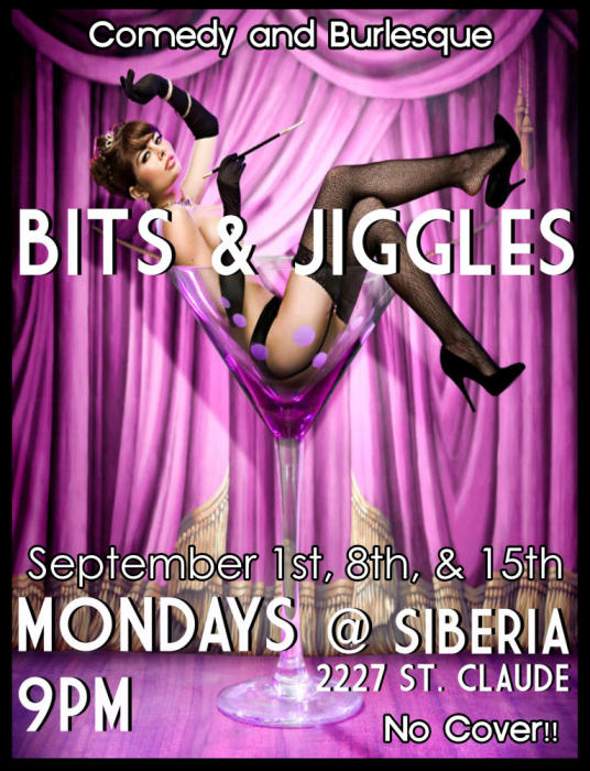 Bits and Jiggles: Comedy and Burlesque