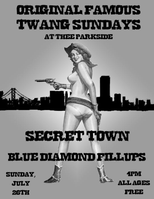Secret Town, Blue Diamond Fillups