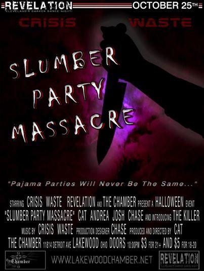 REVELATION PRESENTS SLUMBER PARTY MASSACRE