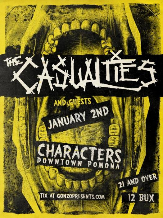The CASUALTIES !!