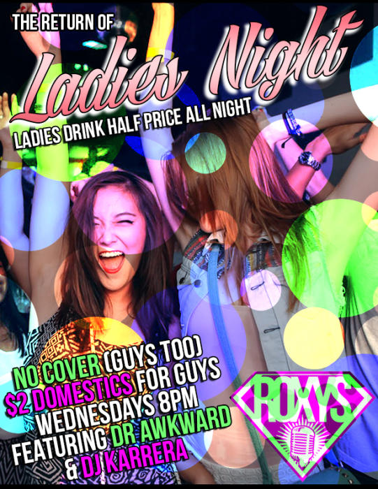 Ladies Night No Cover (Guys Too)