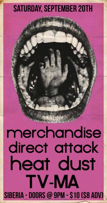 MERCHANDISE | Direct Attack | Heat Dust | TV-MA
