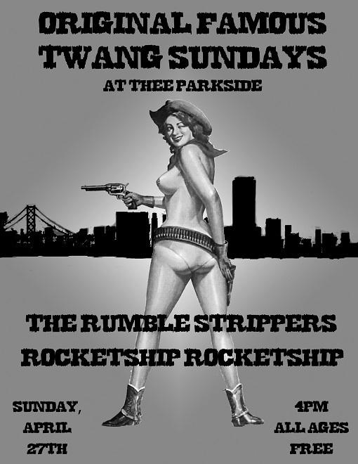 The Rumble Strippers, Rocketship Rocketship