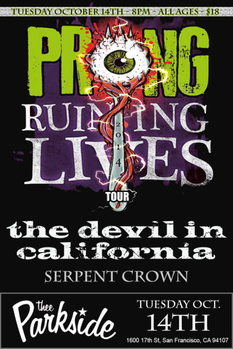 Prong, The Devil in California, Serpent Crown