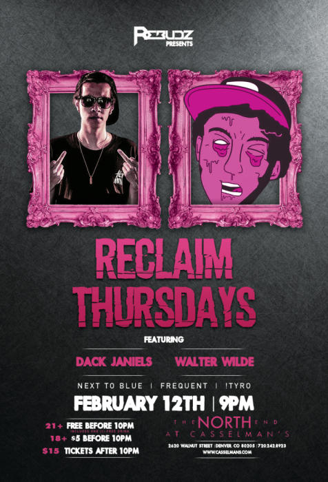 Reclaim Thursday feat Dack Janiels & Walter Wilde