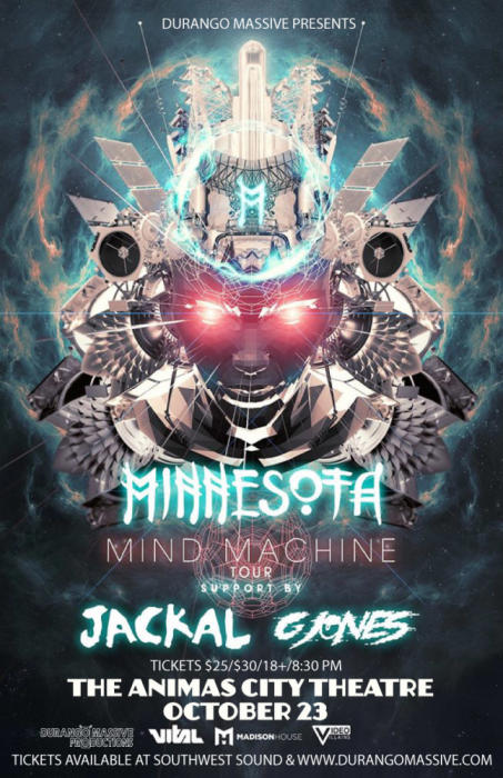 "Minnesota ""Mind Machine"" 2014 Fall Tour"