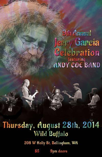 9th Annual Jerry Garcia Celebration ft. The Andy Coe Band