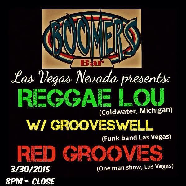 Reggae Lou (MI) ~ Red Grooves  ~ GroovesWell ~ FREE SHOW