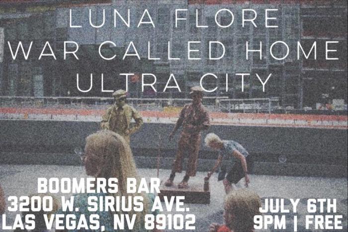 Ultra City (OK) ~ Luna Flore ~ War Called Home