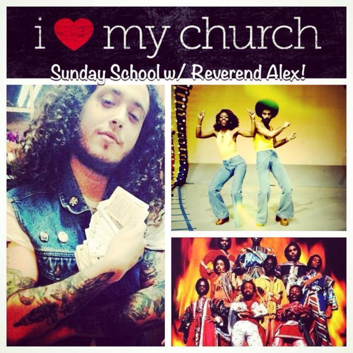 Sunday School with Reverand Alex