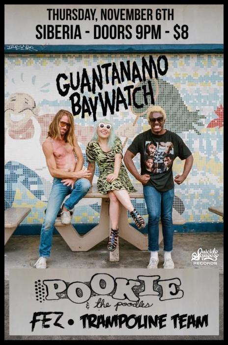 Guantanamo Baywatch | Pookie & the Poodlez | Fez | Trampoline Team
