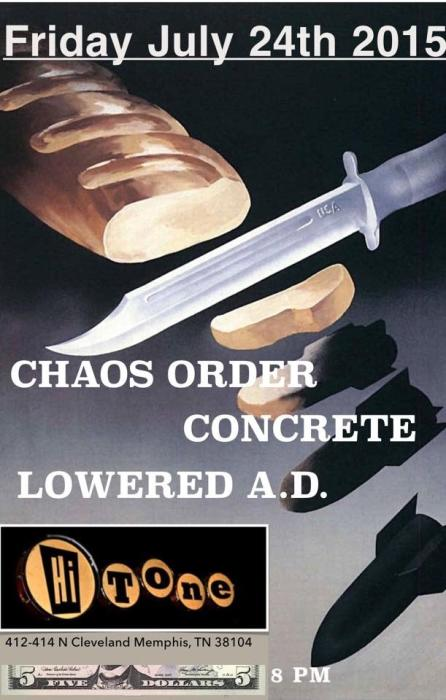 Chaos Order w/ Concrete and Lowered AD