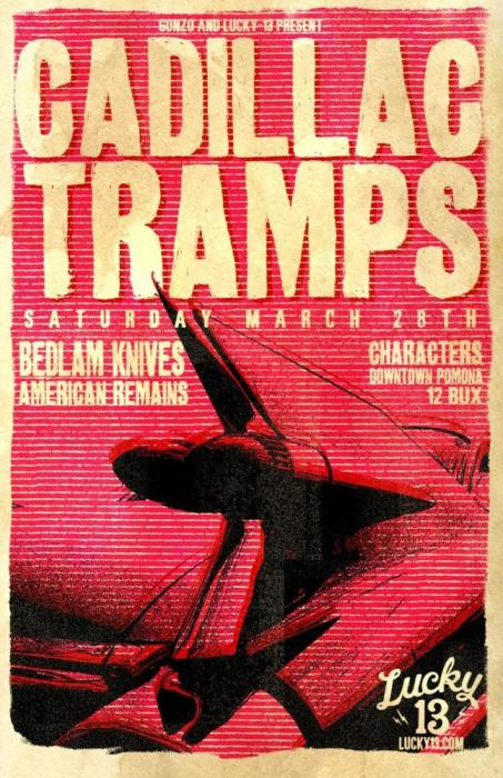 CADILLAC TRAMPS