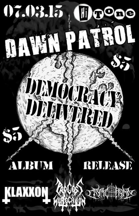 Dawn Patrol *Album Release* w/ Klaxxon, Process of Suffocation, Cryptic Hymn