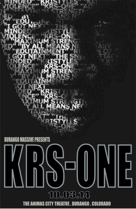 KRS-ONE | APOC | ILL METHODS | OBI ONE | CONCEPT MUSIK | OCTOBER 3 | THE ANIMAS CITY THEATRE