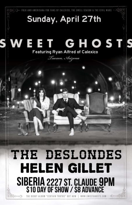 Sweet Ghosts | The Deslondes | Helen Gillet