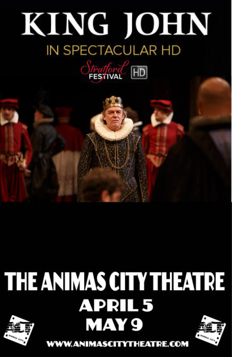 KING JOHN (STRATFORD FESTIVAL SCREENING)
