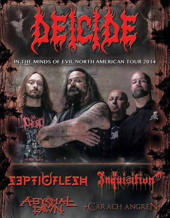 Deicide / Septicflesh / Inquisition / Abysmal Dawn / Carach Angren