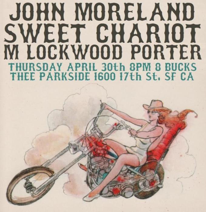 John Moreland, Sweet Chariot, M. Lockwood Porter