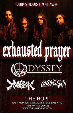 Exhausted Prayer, Losing Skin, Odyssey, Xingaia