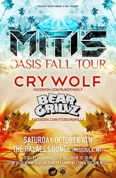 MITIS + Bear Grillz & Cry Wolf
